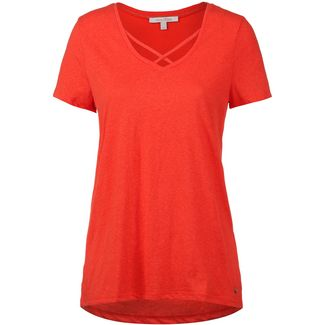 TOM TAILOR T-Shirt Damen bright red