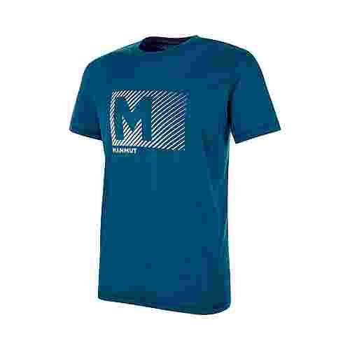 Mammut Massone T-Shirt Men T-Shirt Herren poseidon PRT1