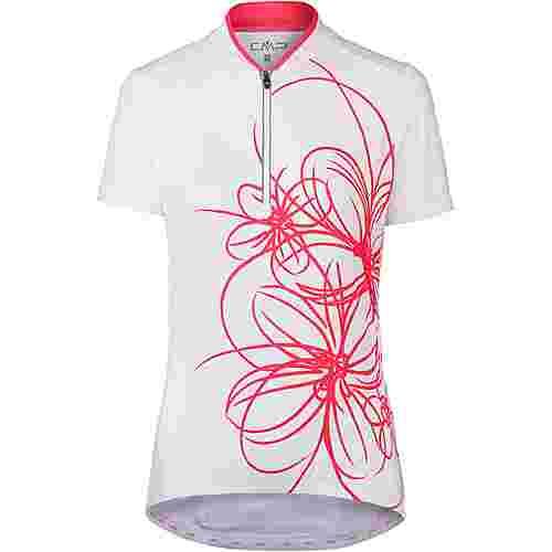CMP Bike Shirt Fahrradtrikot Damen bianco