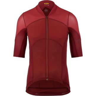 Mavic Cosmic Ultimate SL Fahrradtrikot Herren dahlia-red