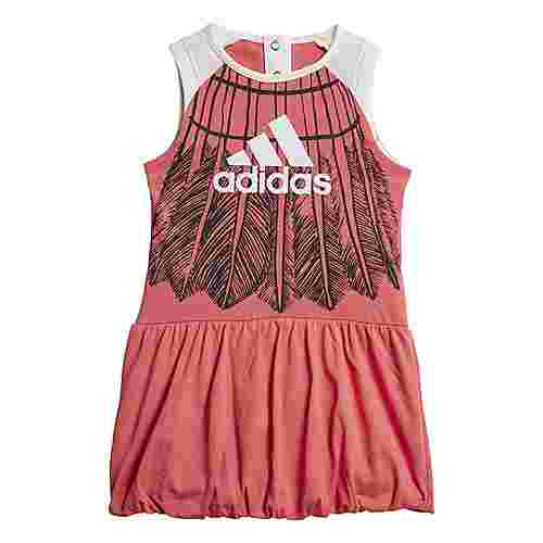 adidas Kleid Trainingsanzug Kinder Prism Pink / White / Carbon