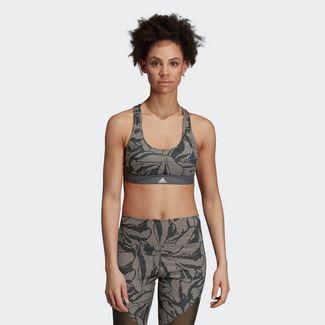 adidas Don't Rest Linear Floral Print Sport-BH Sport-BH Damen Multicolor / Legend Ivy