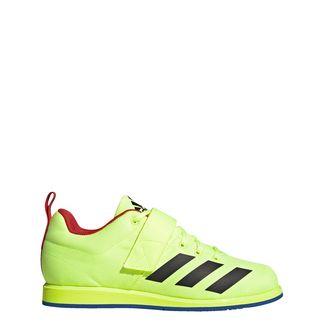 adidas Powerlift 4 Schuh Hallenschuhe Herren Hi-Res Yellow / Core Black / Blue