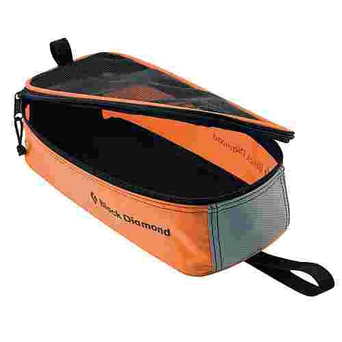 Black Diamond Crampon Bag Steigeisentasche orange