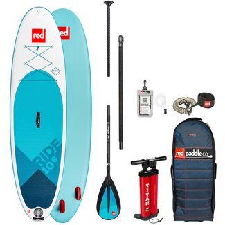 "Red Paddle SPORT SET 11'0"" x 30"" x 4,7"" SUP Board weiß-blau"