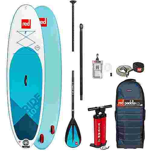 "Red Paddle RIDE SET 10'8"" x 34"" x 4,7"" SUP Board weiß-blau"