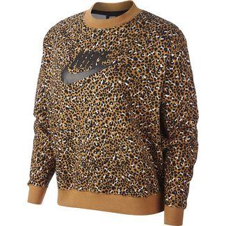 Nike NSW Sweatshirt Damen desert ochre-black