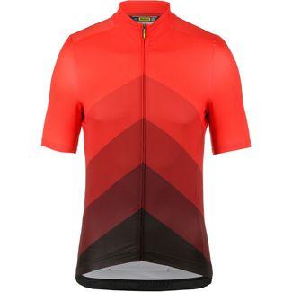 Mavic Cosmic Gradiant Fahrradtrikot Herren fiery red