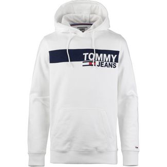 Tommy Jeans Hoodie Herren classic white