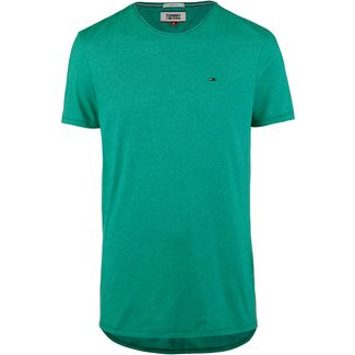 Tommy Jeans Essential Jaspe T-Shirt Herren dynasty green