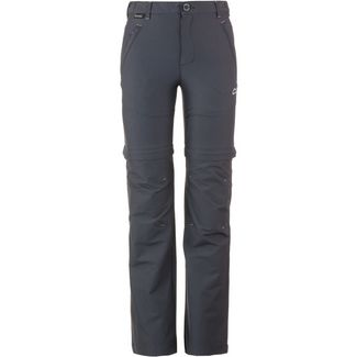 Regatta Hikefell Stretch Zip-Off Trousers Zipphose Kinder Seal Grey