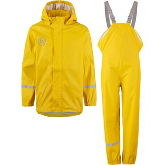 COLOR KIDS TAXI Matschhose Regenjacke Kinder freesia