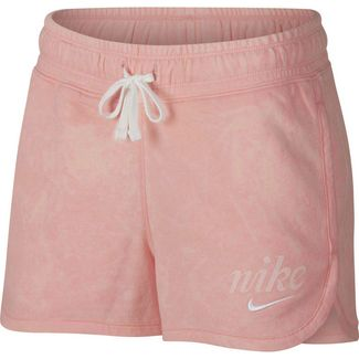 Nike NSW Shorts Damen bleached coral-summit white