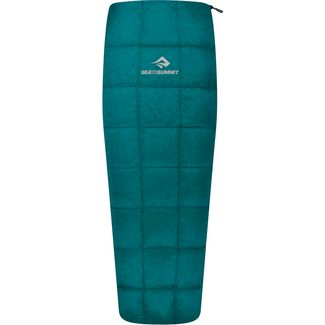 Sea to Summit Traveller TrI Long Daunenschlafsack teal