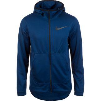 Nike Spotlight Trainingsjacke Herren dunkelblau / schwarz