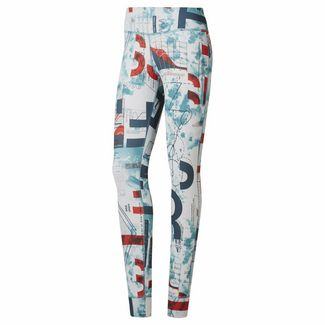 Reebok Tights Damen Mineral Mist