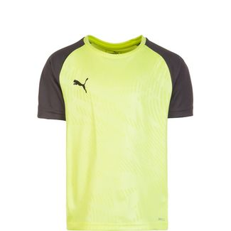 PUMA Cup Training Funktionsshirt Kinder neongelb / anthrazit