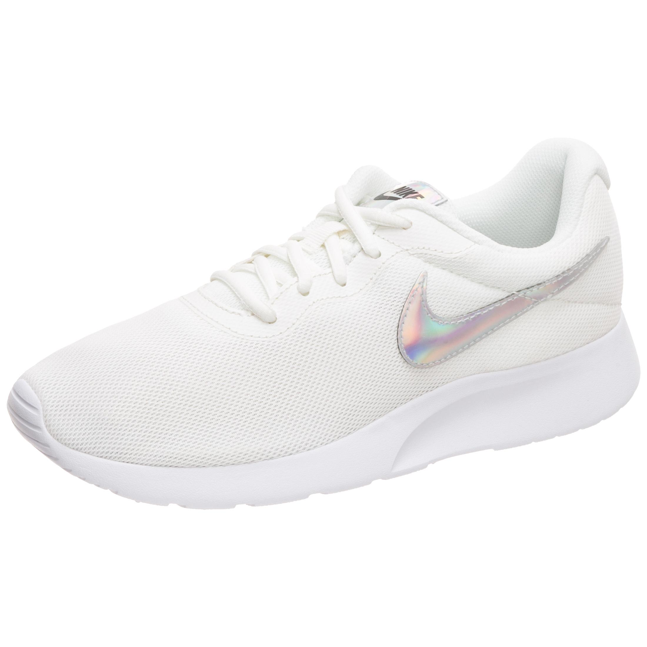 Nike Tanjun Sneaker Damen beige / schwarz im Online Shop von SportScheck kaufen