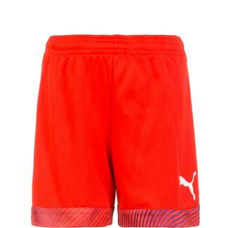 PUMA CUP Fußballshorts Kinder rot / weiß