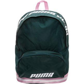 PUMA Core Daypack Damen dunkelgrün / rosa