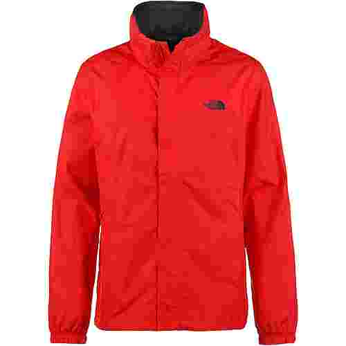 The North Face Resolve 2 Regenjacke Herren fiery red-asphalt grey