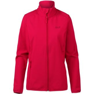 Jack Wolfskin Northern Pass Softshelljacke Damen true red