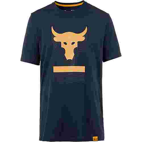 Under Armour PROJECT ROCK ABOVE THE BAR Funktionsshirt Herren navy
