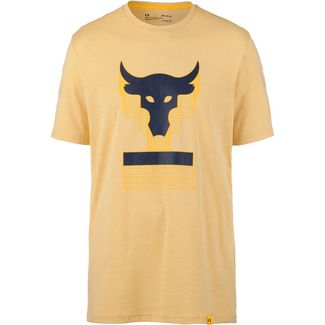 Under Armour PROJECT ROCK ABOVE THE BAR Funktionsshirt Herren yellow