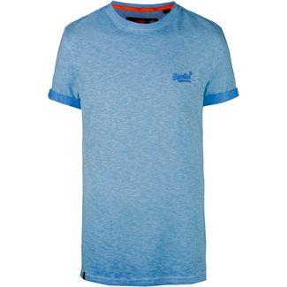 Superdry Low Roller T-Shirt Herren harrington navy