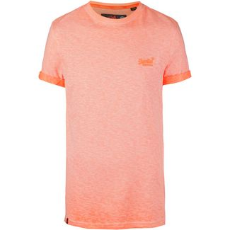 Superdry Low Roller T-Shirt Herren hyper pop orange