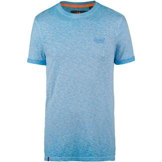 Superdry Low Roller T-Shirt Herren deep turquoise