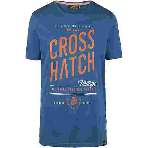 Crosshatch Fresan T-Shirt Herren blue