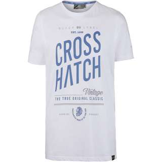 Crosshatch Fresan T-Shirt Herren white