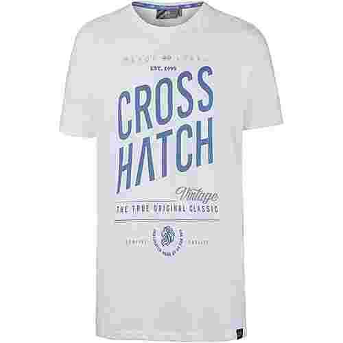 Crosshatch Fresan T-Shirt Herren white