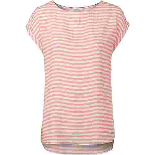 TOM TAILOR Kurzarmbluse Damen blush pink stripe