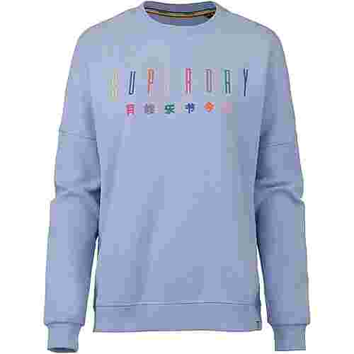 Superdry Carly Carnival Sweatshirt Damen carnival blue