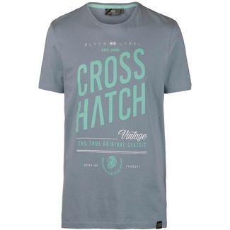 Crosshatch Fresan T-Shirt Herren grey