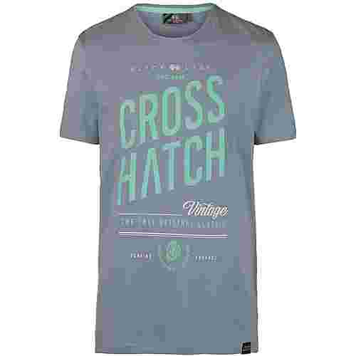 Crosshatch Fresan T-Shirt Herren grey