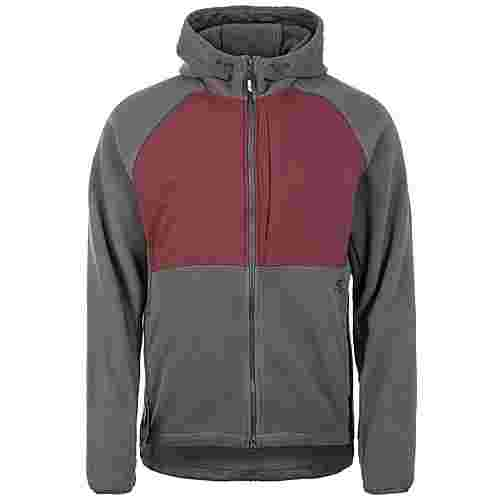 Nike Winterized Sweatjacke Herren anthrazit / weinrot