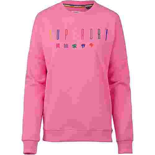 Superdry Carly Carnival Sweatshirt Damen active pink