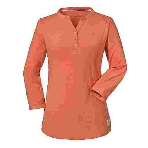 Schöffel Longsleeve Johannesburg L T-Shirt Damen emberglow
