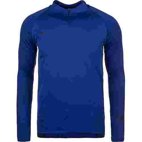 Nike Dry Squad Drill Funktionsshirt Herren blau / schwarz