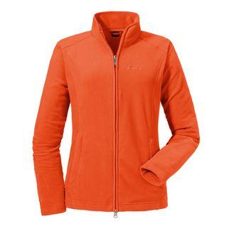 Schöffel Fleece Jacket Leona2 Fleecejacke Damen mandarin red