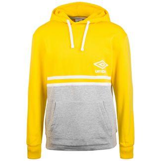 UMBRO Block Color Hoodie Herren gelb / grau