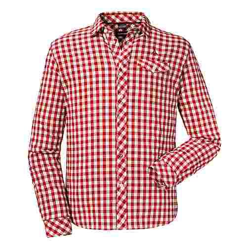Schöffel Shirt Miesbach2 LG Funktionshemd Herren aura orange