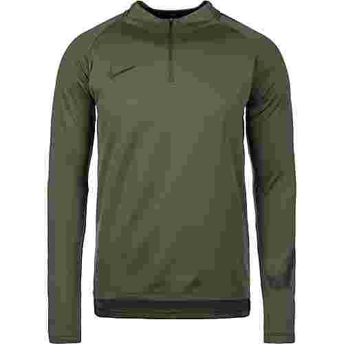 Nike Dry Squad Drill Funktionsshirt Herren dunkelgrün / schwarz