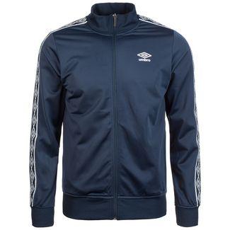 UMBRO Retro Taped Tricot Trainingsjacke Herren dunkelblau / weiß