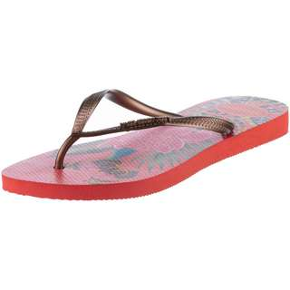 Havaianas Slim Tropical Zehentrenner Damen strawberry