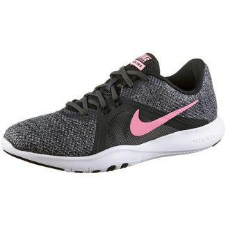 new style 22a00 674cb Nike Flex Trainer 8 Fitnessschuhe Damen anthracite-sunset pulse-black