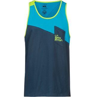 La Sportiva Dude Tanktop Herren opal-tropic blue